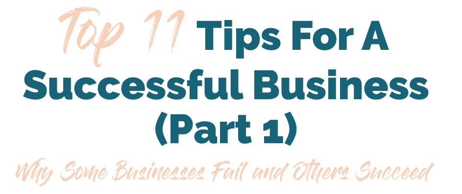 11 tips for business success